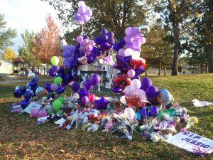 Jessica Ridgeway Memorial at Chelsea Park
